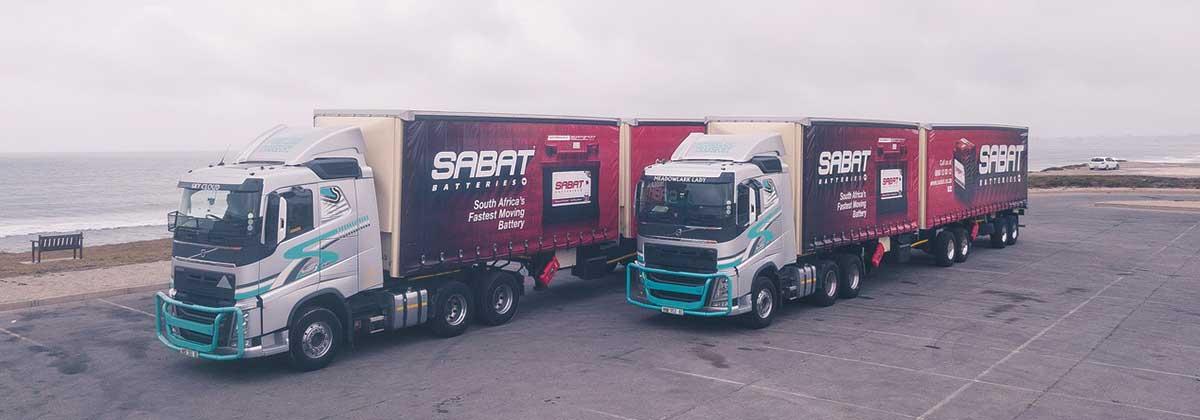 SABAT Delivery Truck